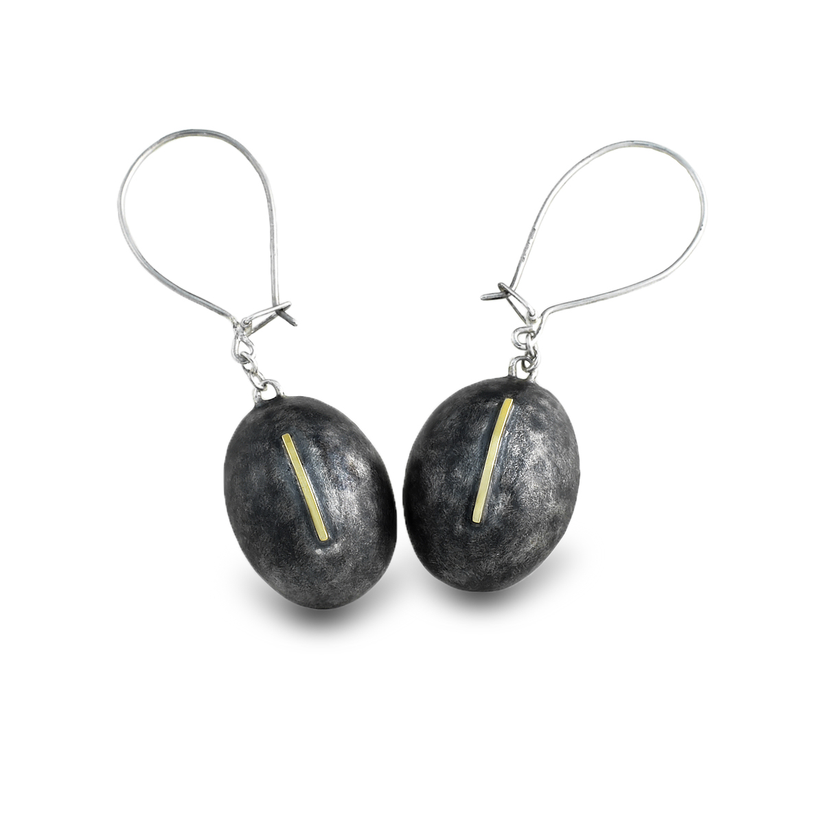 Ovoid-drop-earrings