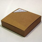 Book box for square pocket sketchbooks