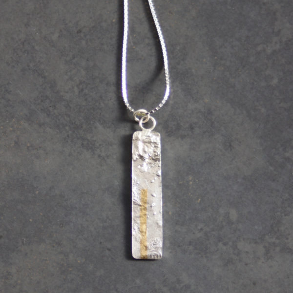 LINEAR Sil Necklace 1 HMO