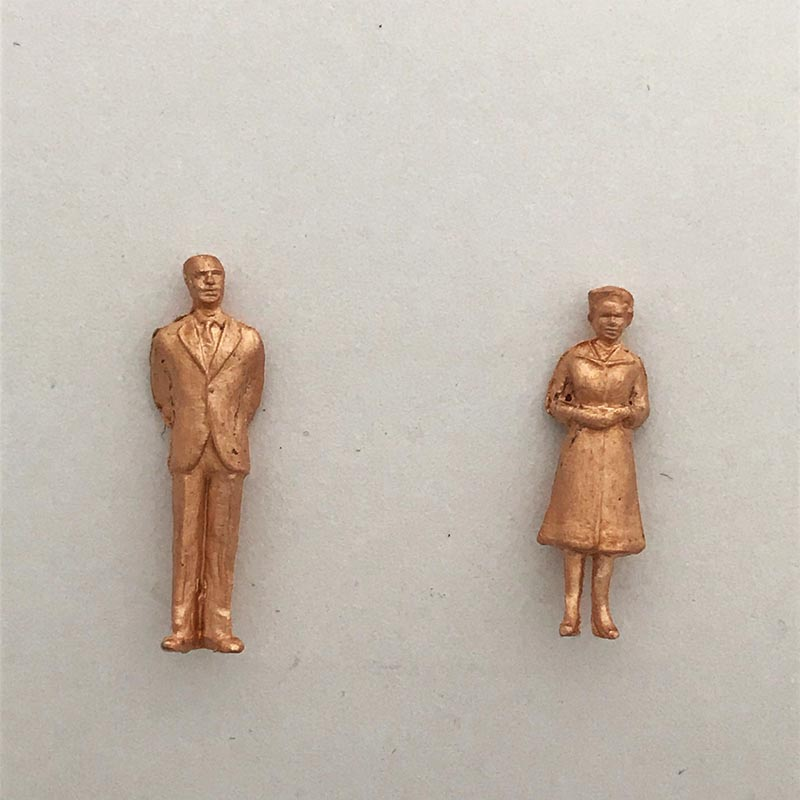Rose Gold 50s Couple