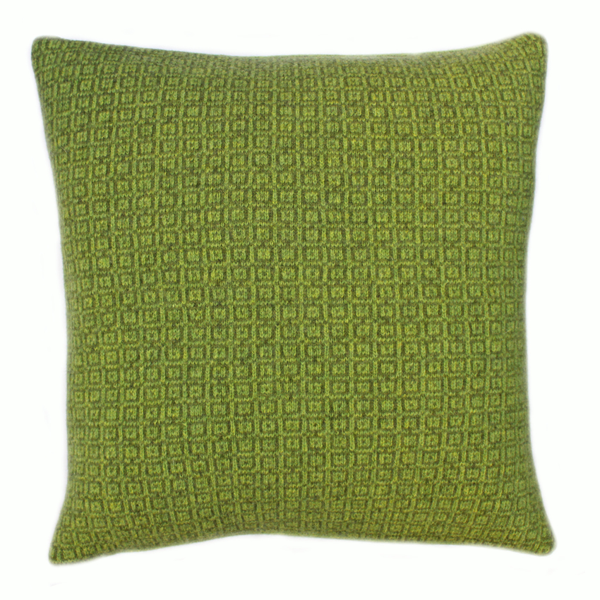 Square tile cushion 40 cms sq Dark Apple