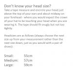 head measurement instructions