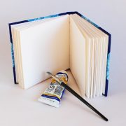 Sketch book suitable for water based media