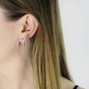 cadence earrings body shot