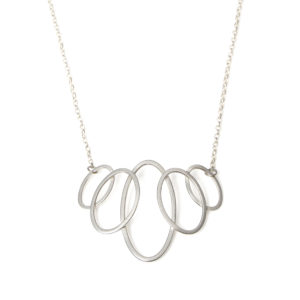 Graduating 5 Oval Necklace