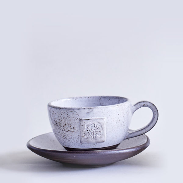 Ceramic Goose Egg-Tea Cup