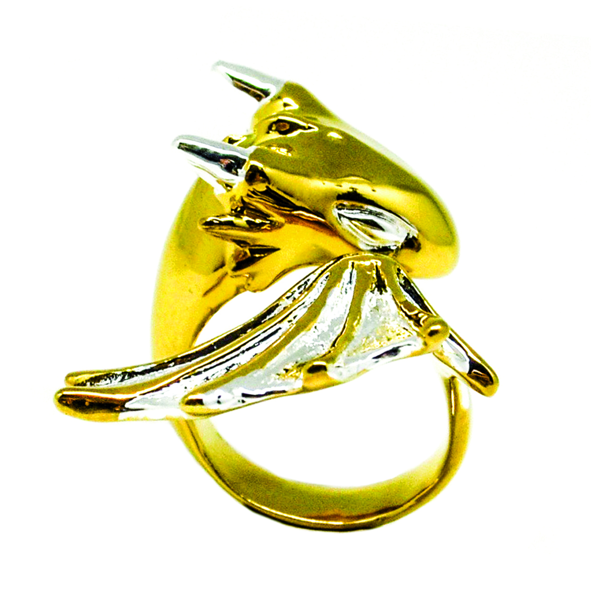 Gold Warrior Dragon Ring_Monvatoo#2