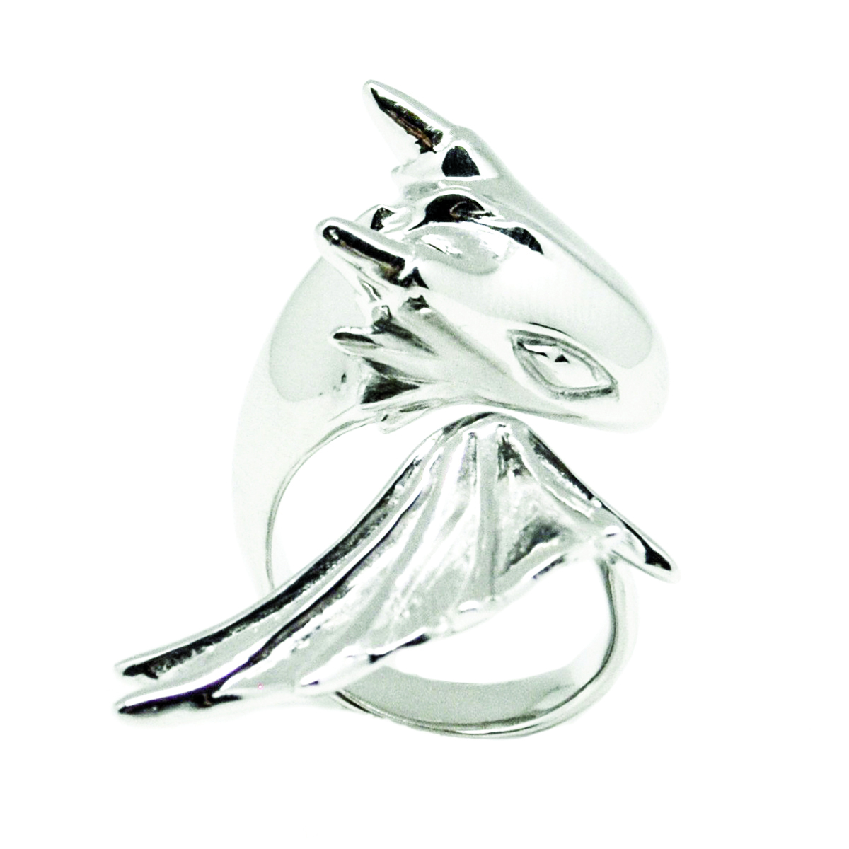 Silver Dragon Ring_Monvatoo#2
