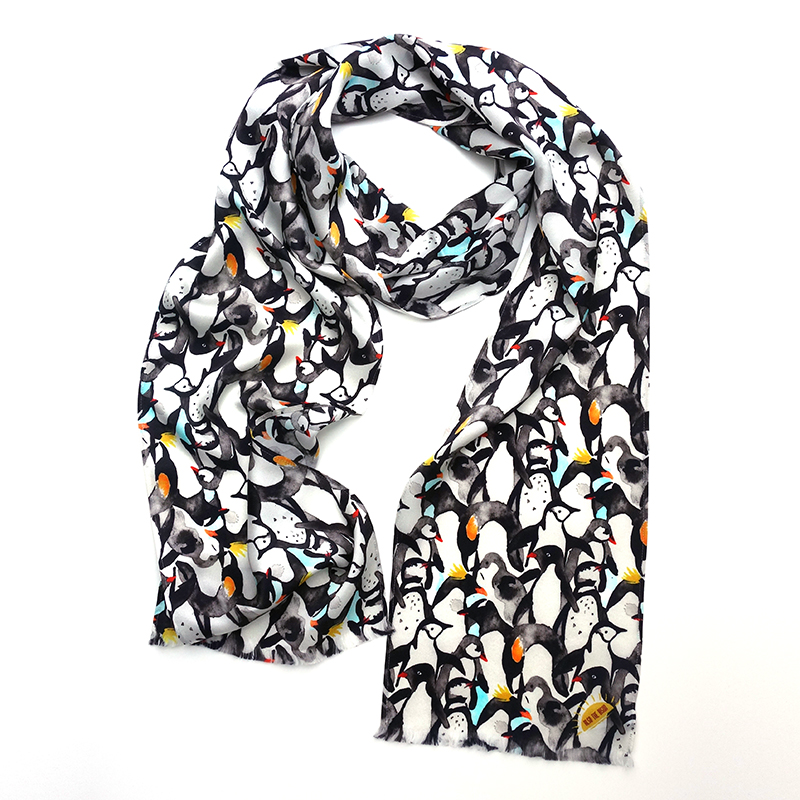 penguin aviator scarf