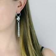 Chain Earring Close Up