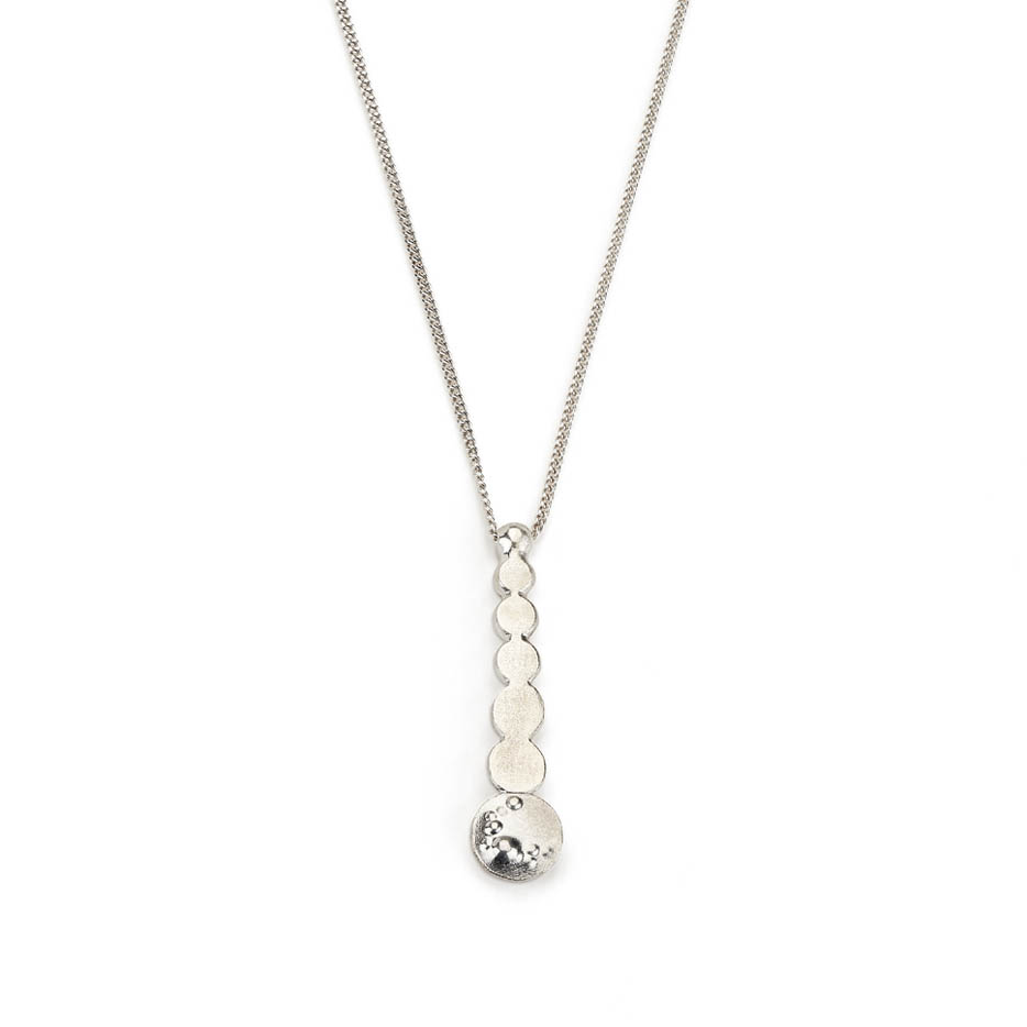 Decorio Drop Necklace Sterling Silver