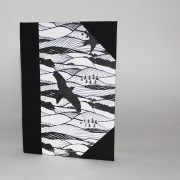 Hills and Dales A6 notebook/sketchbook front cover