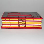 P and Q book spine