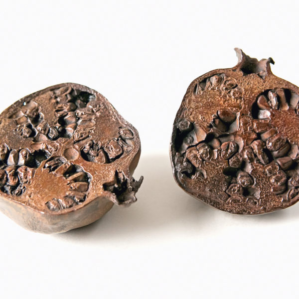 Solid Bronze Pomegranates by Pomarius