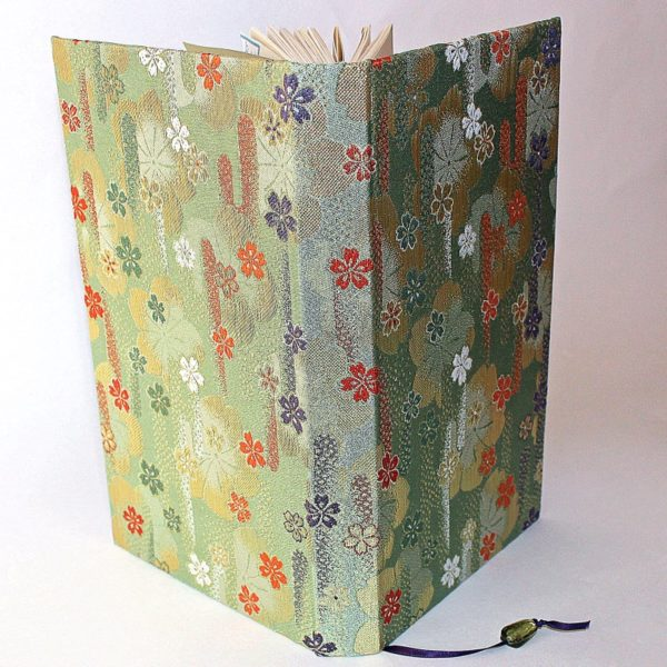 Japanese fabric notebook 1855