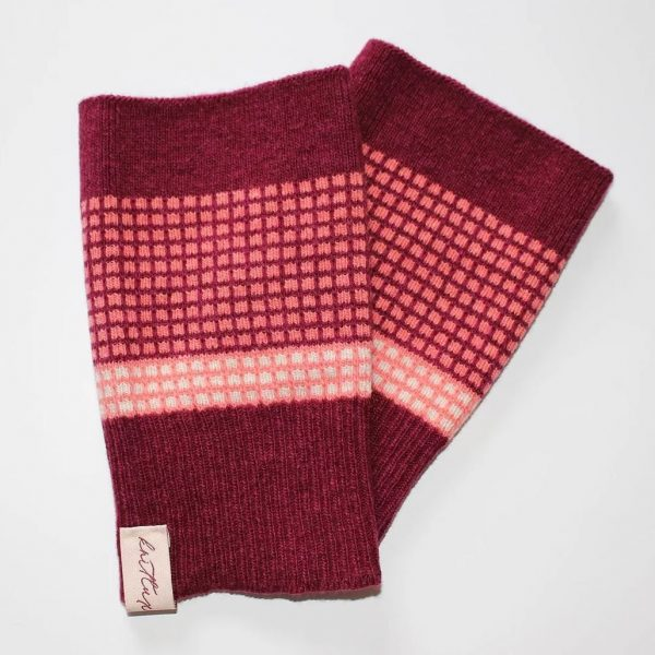 Selina fingeless mittens