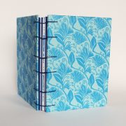 memory book in blue