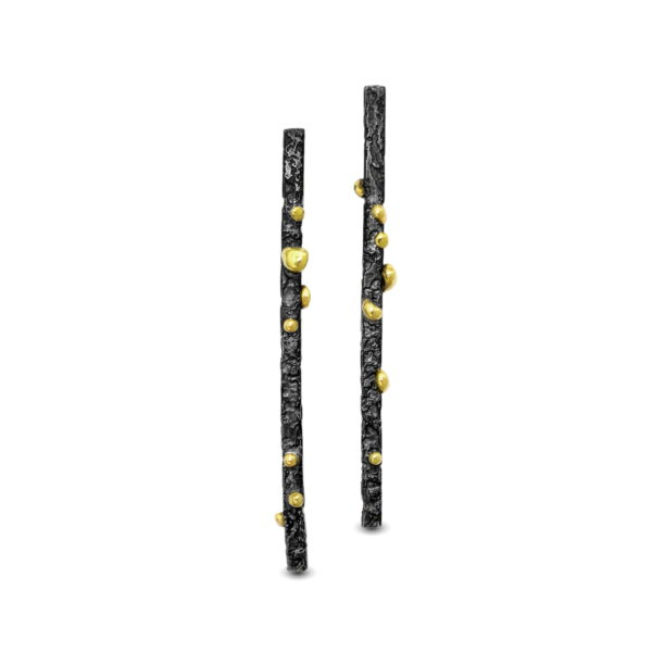 Long-Black-And-Gold-Earrings