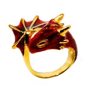 Scarlet Dragon Ring