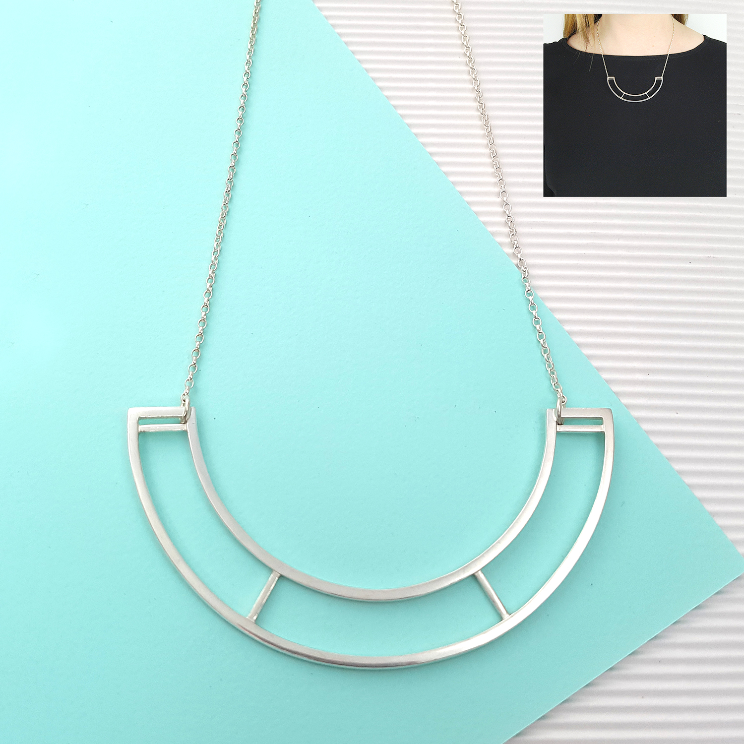 large parallel necklace