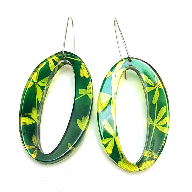 Green-lime-Madder-oval-earrings-sue-gregor
