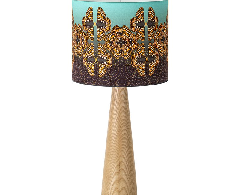 Papillion checkerspot lampshade by Katie Wallis Print