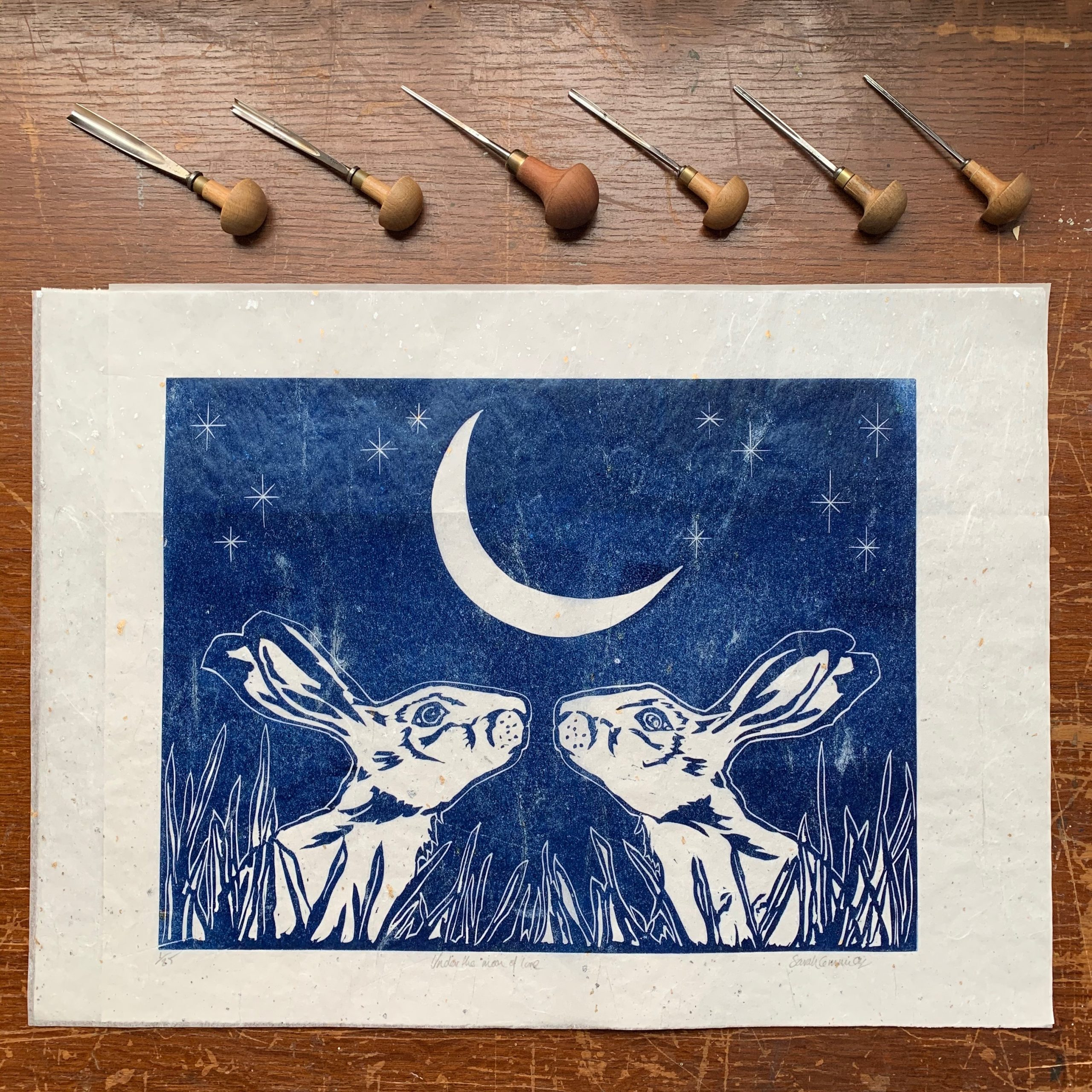 Under The Moon Of Love Handmade In Britain