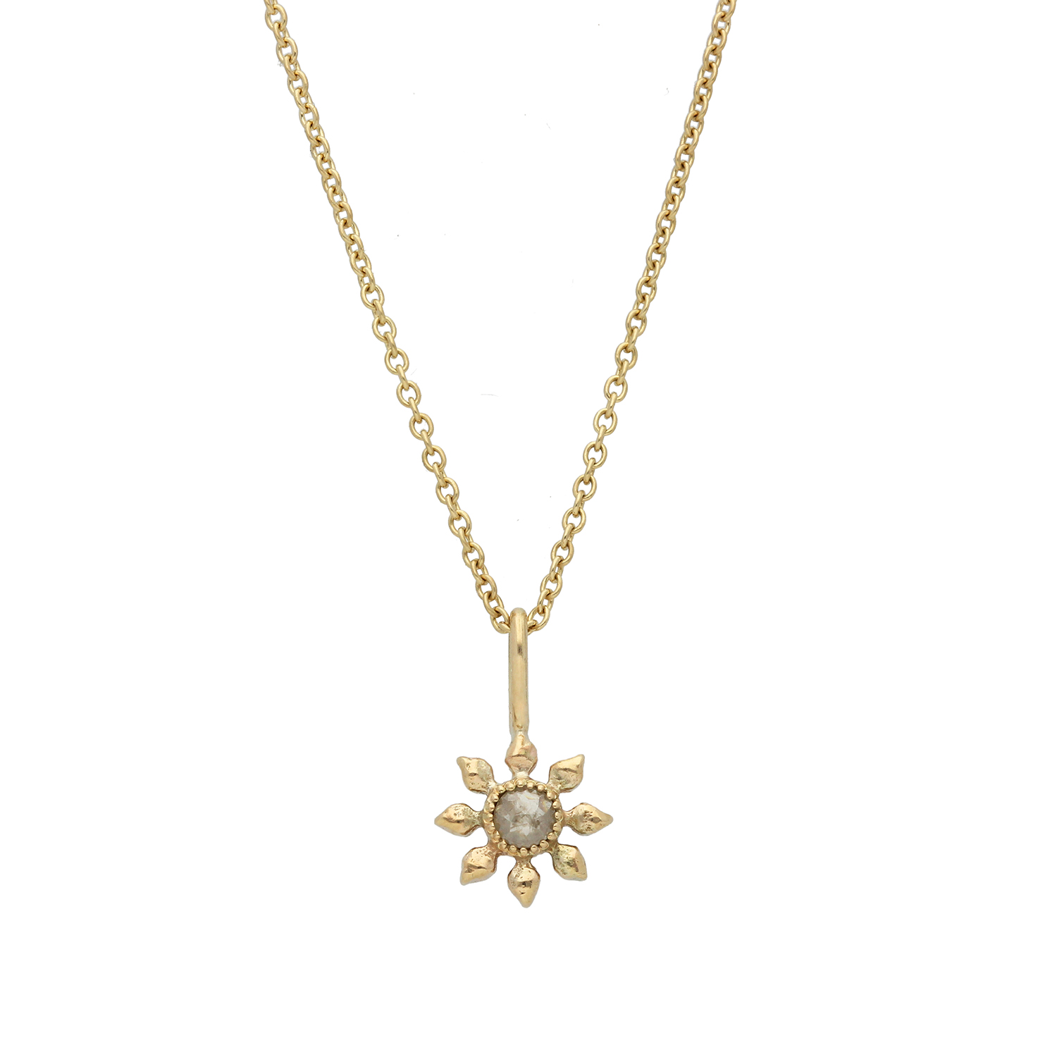 Natalie Perry Jewellery, Diamond Flower Necklace