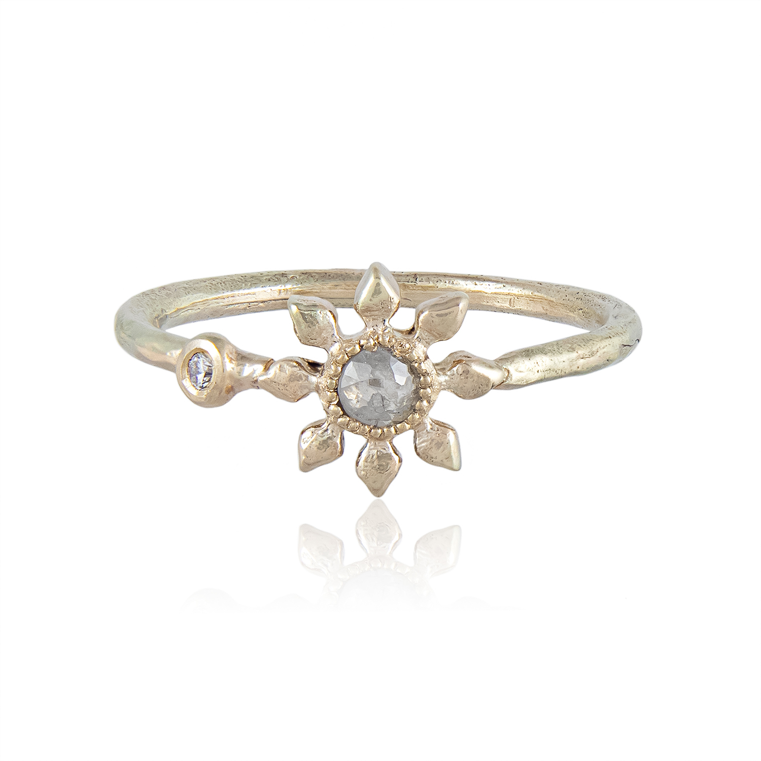 Natalie Perry Jewellery, Diamond Flower Ring