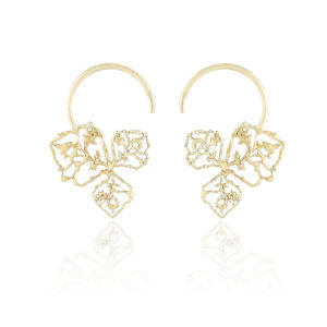 Natalie Perry Jewellery, Triple Petal Hoops