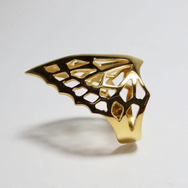 gold avarium ring 800