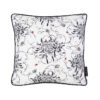 Mini Entangled Chrysanthemums Hand Embroidered and Beaded Cushion