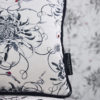 Mini Entangled Chrysanthemums Hand Embroidered Cushion