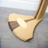 wooden guitar stand base