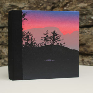Skye landscape square sketch book