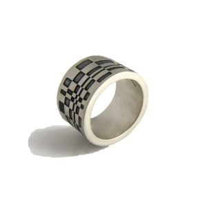 Thumb Ring Oxidized