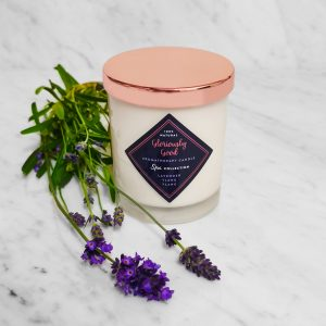 Natural Lavender Essential Oil Aromatherapy Candle