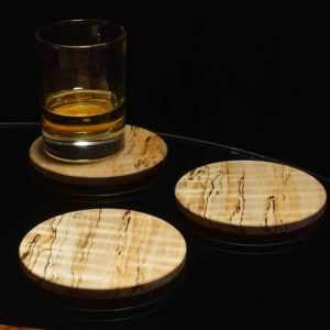 Spalted Sycamore Coasters