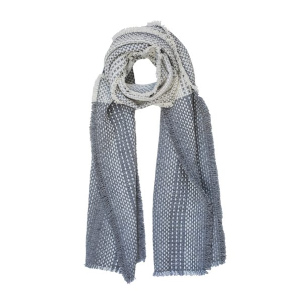 Louise Tucker_speckle scarf product shot_grey_square