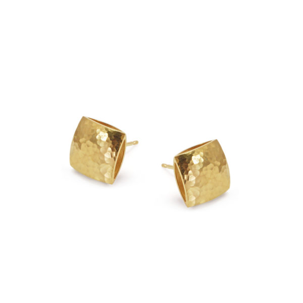 Gold plated pillow studs - Heather O'Connor