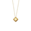 Gold Plated Mini Pillow Necklace - Heather O'Connor