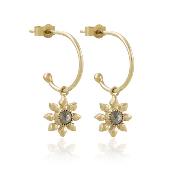 Natalie-Perry-Jewellery-Diamond-Flower-Hoops