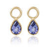 Natalie-Perry-Jewellery-Organic-Twisted-Charm-Hoops-with-tanzanite-charms