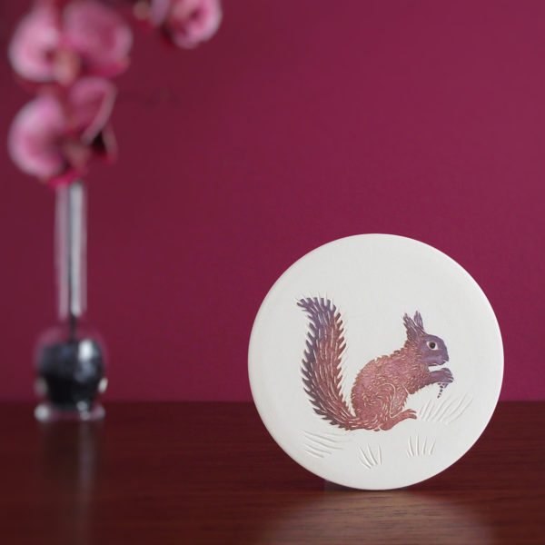 squirrel wall hanging