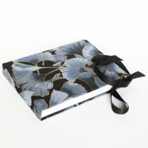2088 black ginkgo landscape with ties