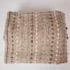 Reverse side of the handwoven 'Tendril' throw featuring Merino wool by Cassandra Sabo