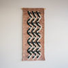 Cassandra Sabo's 'Elude' handwoven textile wall-hanging from her West Coast Collection