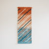 Cassandra Sabo's 'Shoreline' handwoven textile wall-hanging from her West Coast Collection