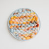 Cassandra Sabo's 'West Coast 2' woven circular textile artwork from her West Coast Collection