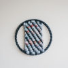 Cassandra Sabo's 'West Coast 8' woven circular textile artwork from her West Coast Collection